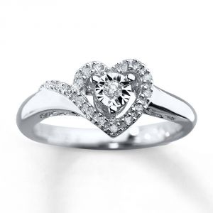 Ag Real Diamond Fashion Ring Agsr0237
