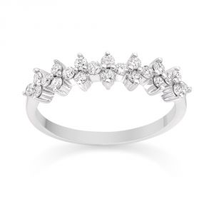 Ag Real Diamond Fashion Ring Agsr0238