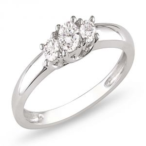 Ag Real Diamond Fashion Ring Agsr0242