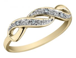 Ag Real Diamond Telagu Ring Agsr0261