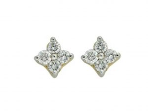 Avsar Real Gold And Diamond Aarvika Earring ( Code - Ave142n )