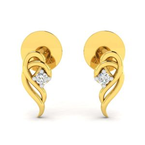 Avsar Real Gold Nitisha Earring( Code - Ave206yb )