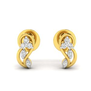 Gold Jewellery - Avsar Real Gold Diksha Earring( Code - AVE224YB )