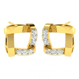 Avsar Real Gold And Diamond Swara Earring (code - Ave371a)