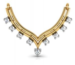 Avsar Real Gold And Diamond Kerala Mangalsuta Avm010