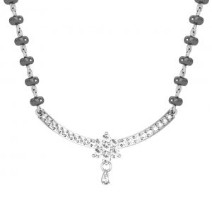 Avsar Real Gold And Diamond Pune Mangalsutra ( Code - Avm026wn )