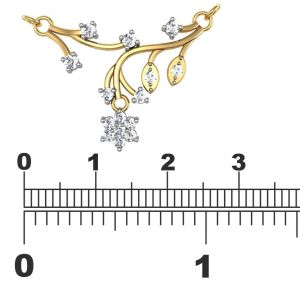 Asmi,Platinum,Kiara,Parineeta,Avsar Women's Clothing - Avsar Real Gold and Diamond Bengaluru Mangalsuta  AVM067