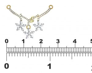 Avsar Real Gold And Diamond Bhopal Mangalsuta Avm070
