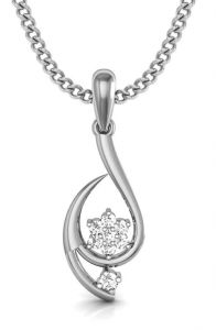 Avsar Real Gold And Diamond Ranchi Pendant ( Code - Avp014wn )
