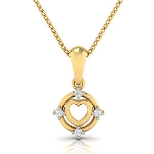Avsar Real Gold And Diamond Samiksha Pendant( Code - Avp277a )