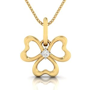 Avsar Real Gold And Diamond Sonal Pendant( Code - Avp278a )