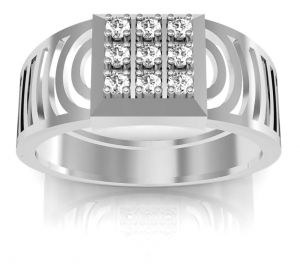 Avsar Real Gold And Diamond Ankita Men Ring ( Code - Avr001wn )
