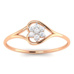 Gold Jewellery - Avsar Real Gold Anjali Ring (Code - AVR070PB )