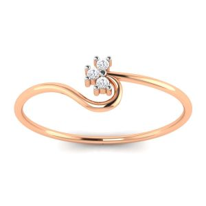 Avsar Real Gold And Diamond Arvika Ring ( Code - Avr078pa )