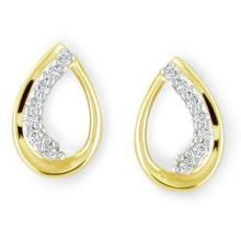 Bling! Diamond Daily Wear Pear Shape Fancy Earring