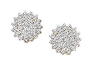 Bling! Diamond Accessories Daily Wear Fancy Flowe