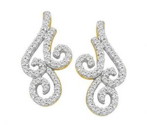 Rcpc,Avsar,Soie Precious Jewellery - Bling! Diamond Accessories Daily Wear Fancy Curve