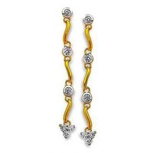 Daily Wear Dangling Shape Earring Bge074