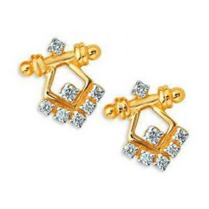 Wimsical Rajastani Diamond Earring Bge075