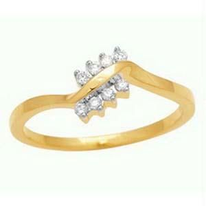 Bling! Real Gold And Diamonds Rings Bgr032