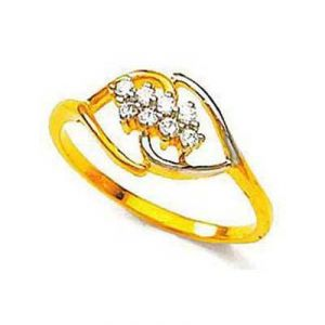 Stone Romantic Heart Shape Diamond Ring Bgr063