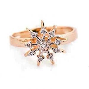 Daily Wear Unique Star Diamond Ring Bgr072