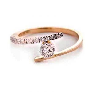 Daily Wear The End Star Diamond Ring Bgr073