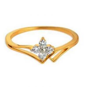 Daily Wear A Mount Flower Look Diamond Ring Bgr075
