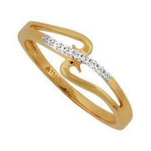 Daily Wear Dandling String Diamond Ring Bgr085