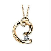 Bold American Diamond Fancy Pendant Bop006