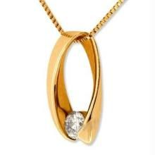 Bold American Diamond Fancy Pendant Bop007