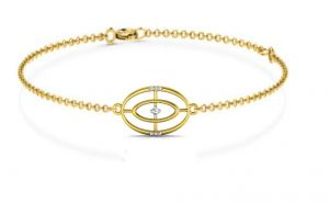 Avsar,Ag,Lime,Jagdamba,Sleeping Story Women's Clothing - Avsar Real Gold and Diamond  Vaishnavee Bangle10