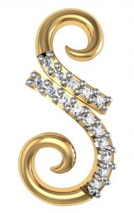 Avsar Real Gold And Diamond Sucharita Earring Bge054a