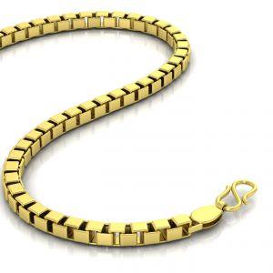 Gold Jewellery - Avsar 18k Gold 22 Inch Box Chain