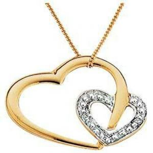 Heart Of Life 14k Gold Diamond Pendant