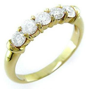 1.02 Ct Bridal 14k Gold Diamond Ring