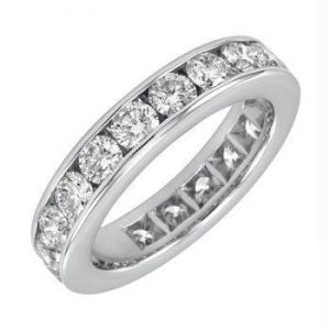 Eternity Of Life 14k Gold Diamond Ring