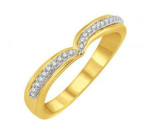 0.22 Ct Engagement 14k Gold Diamond Rings Intr0040