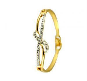 Silver Bracelets - Kiara AMERICAN DIAMOND BRACELET KIB0004