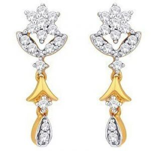kiara,sukkhi,soie,ag,valentine,estoss,fasense Earrings (Imititation) - Kiara Traditional Shape Earring KIE0037