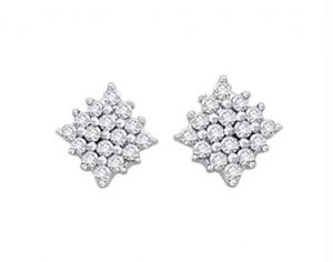 kiara,la intimo,shonaya,valentine,Valentine Earrings (Imititation) - Kiara Square Shape Earring KIE0041