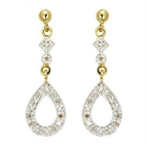 kiara,port,surat tex,la intimo,asmi Earrings (Imititation) - Kiara Traditional Shape Earring KIE0043