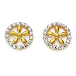 Asmi,Platinum,Kiara Women's Clothing - Kiara Traditional Earring KIE0059