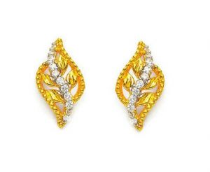 kiara,la intimo,shonaya,valentine Earrings (Imititation) - Kiara Leave Shape Earring KIE0063