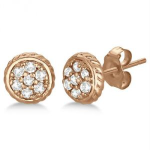 triveni,lime,ag,port,kiara Earrings (Imititation) - Kiara Pink Gold Plated Earring KIE0088