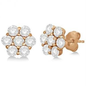 Kiara Pink Gold Plated Traditional Earring Kie0095