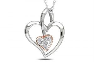 Kiara Lovely Heart Shape Design Ad Pendant Kip0160
