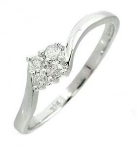 Kiara Traditional Shape Diamond Ring Kir0045