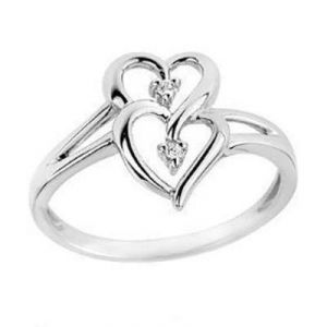 Kiara Heart Shape Diamond Ring Kir0049