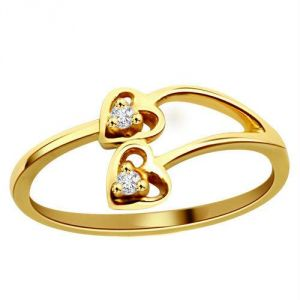 Kiara Heart Shape Diamond Ring Kir0053